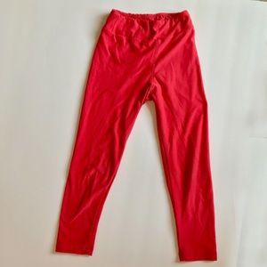 🏝5/$20 SALE! GUC LuLaRoe coral s/m leggings